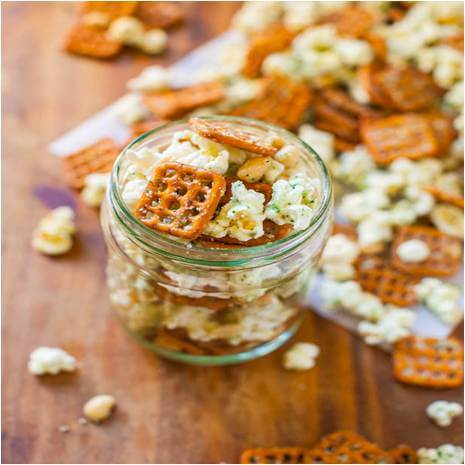 Hot and Spicey Snack Mix