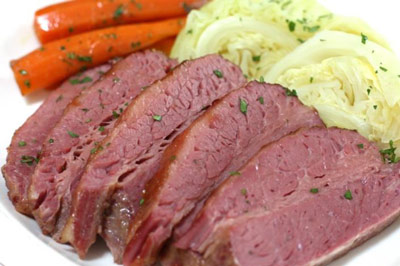 Corned Beef and Vegetables Using Irish Stout