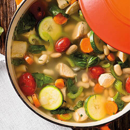 Italian Chicken Vegetable Soup