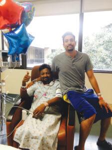 NAMG's Own Rizwan Badar Donates Kidney to Brother